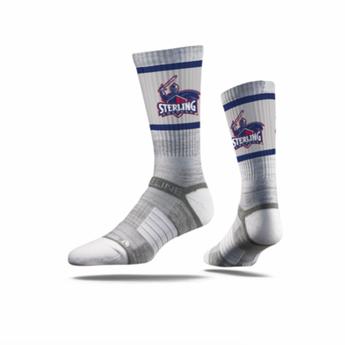 Strideline Premium Crew Socks, Grey