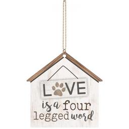 Key Charm-Love is Four Legged Word