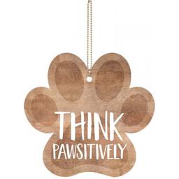 Key Charm-Think Pawsitively