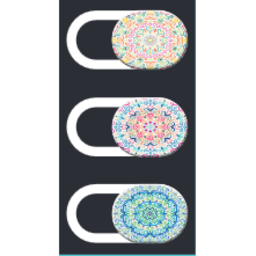 Blockerz Camera Covers Mandala