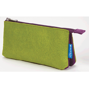 "Profolio Midtown Pouch 5""x9"" Green/Purple"
