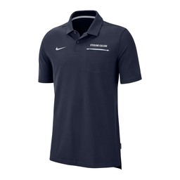Nike Elite Coach Polo - Navy & White