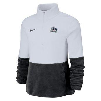 Nike Micro Fleece Half Zip - Black & White