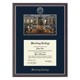 Diploma Frame, Campus Scene