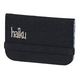 Haiku RFID Mini Wallet - Black Morel