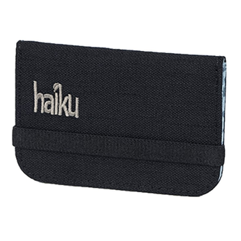 Haiku RFID Mini Wallet - Black Morel