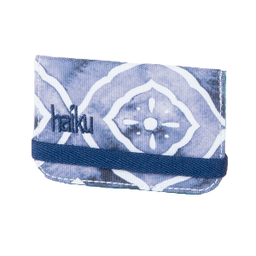 Haiku RFID Mini Wallet - Geo Wash Print