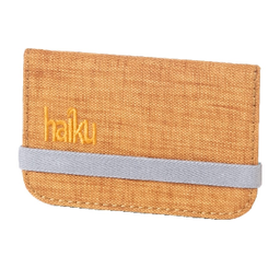 Haiku RFID Mini Wallet - Goldenrod