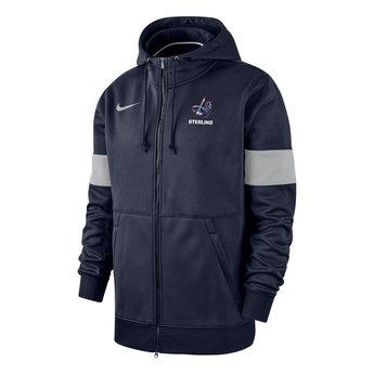 Nike Therma Full Zip Hoody - Navy & Grey -