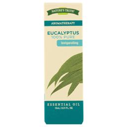 Nature's Truth Aromatherapy Oil, 15 ml Bottle, Eucalyptus