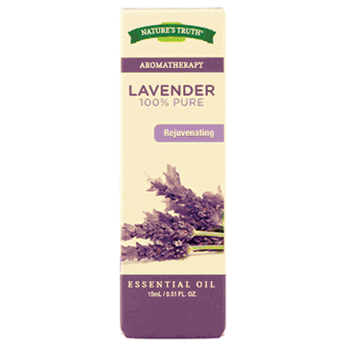 Nature's Truth Aromatherapy Oil, 15 ml Bottle, Lavender
