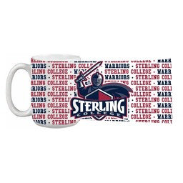 Mug, 15 oz. Impact Grande, Sterling College Wrap-around