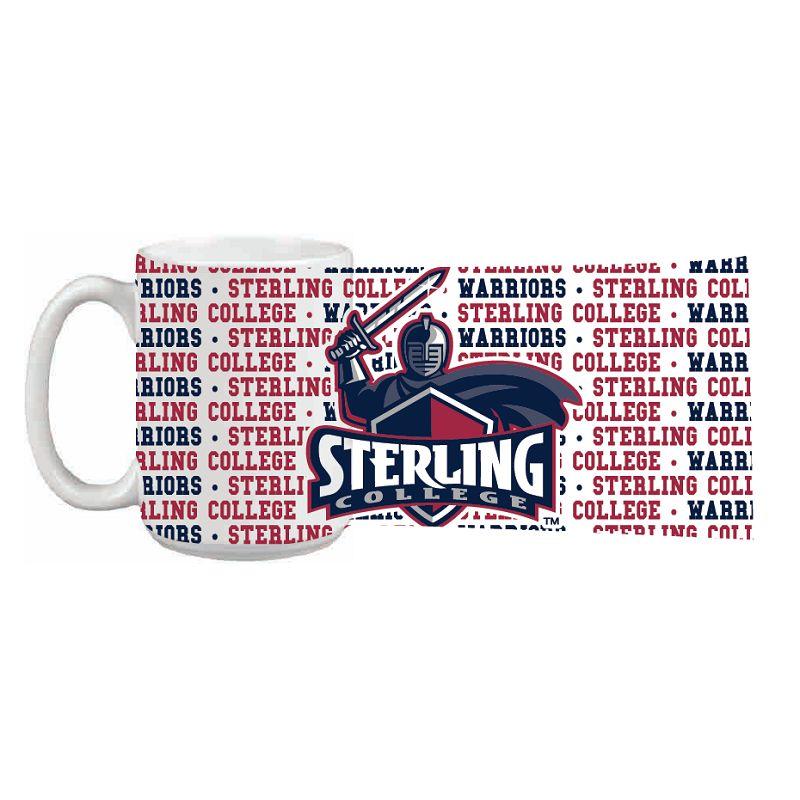 Mug, 15 oz. Impact Grande, Sterling College Wrap-around