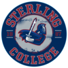 Blue 84 Sterling College Metal Circle Sign
