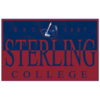 Blue 84 Sterling College Metal Rectangle Sign