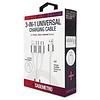 CaseMetro Universal Charging Set, White