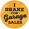 Car Coaster-I Brake for Garage Sales