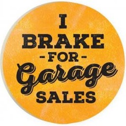 Car Coaster-I Brake for Garage Sales