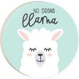 Car Coaster-No Drama Llama