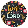 Car Coaster-Trust in the Lord