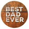 Car Coaster-Best Dad Ever