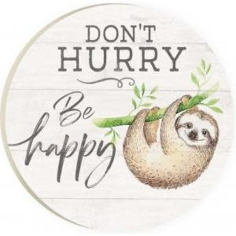 Car Coaster-Don't Hurry Be Happy