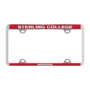 Sterling College Warriors License Plate Frame