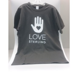 Love Sterling Tee - Stone Gray