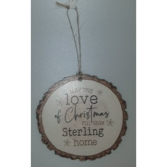 Barky Ornament-Sterling Home