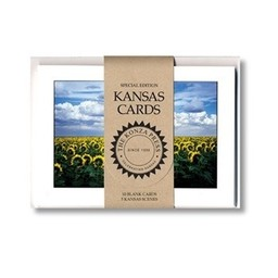 "Kansas Note Cards, 10/pk, 5"" x 7"""