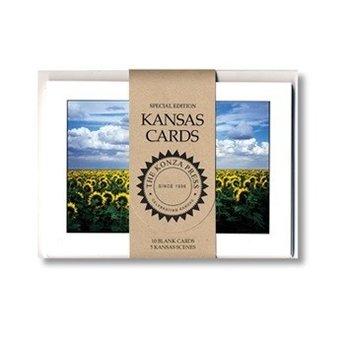 "Kansas Note Cards, 10/pk, 5"" x 7"""