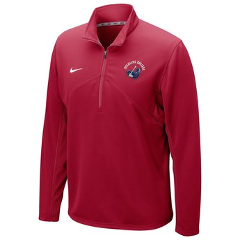 Nike DriFIT Training 1/4 Zip - Crimson