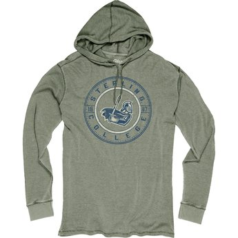 Blue 84 Burnout Thermal Hood - Woodland