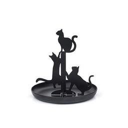 Black Cat Jewelry Stand