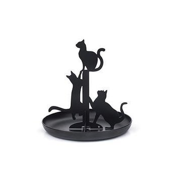 Black Cat Jewelry Stand