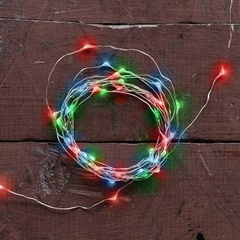 String Battery Lights - Multicolored