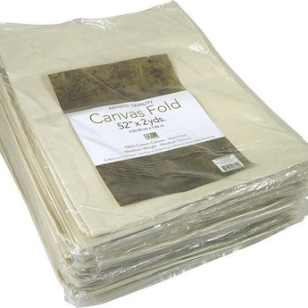 "Canvas, Art Advantage 52"" x 2 yards 6 oz. Unprimed Fold"