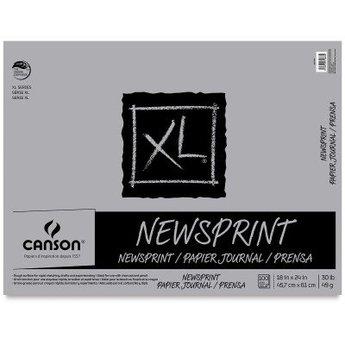Canson XL Newsprint Pad, 18X24