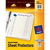 Avery Standard Weight Sheet Protectors; Clear, 10/ct