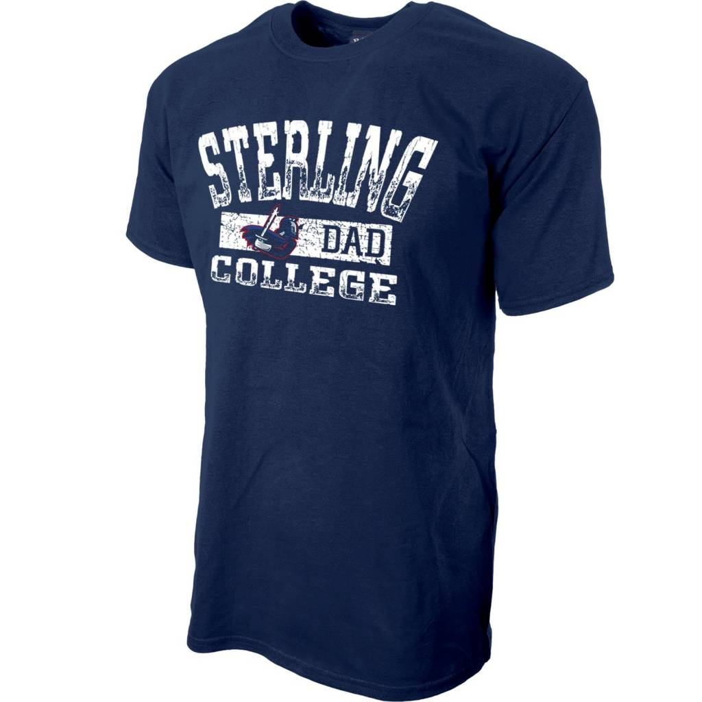 Blue 84 Dad Mill Dyed SS Tee - Navy -