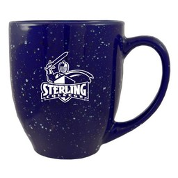 LXG Speckled Bistro Mug, Blue