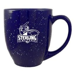 LXG Speckled Bistro Mug, Blue