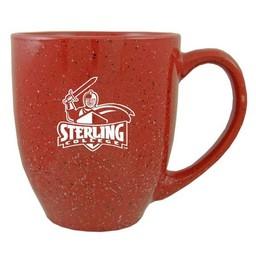LXG Speckled Bistro Mug, Cardinal