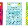 """3M Post It Notes to Go 3""""x3"""""""