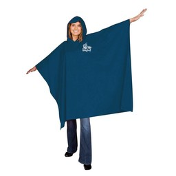 Game Day Rain Poncho, Navy Blue