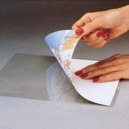 "Cleer Adheer® Laminating Sheet, Clear, Heavyweight, 9"" x 12"", 2/ct"