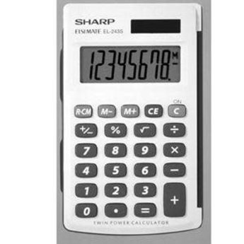 Sharp Handheld Solar Calculator