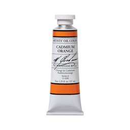 ARTISTS' OIL COLOR, CADMIUM ORANGE, 1.25 OZ