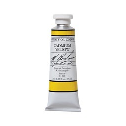 ARTISTS' OIL COLOR, CADMIUM YELLOW, 1.25 OZ.