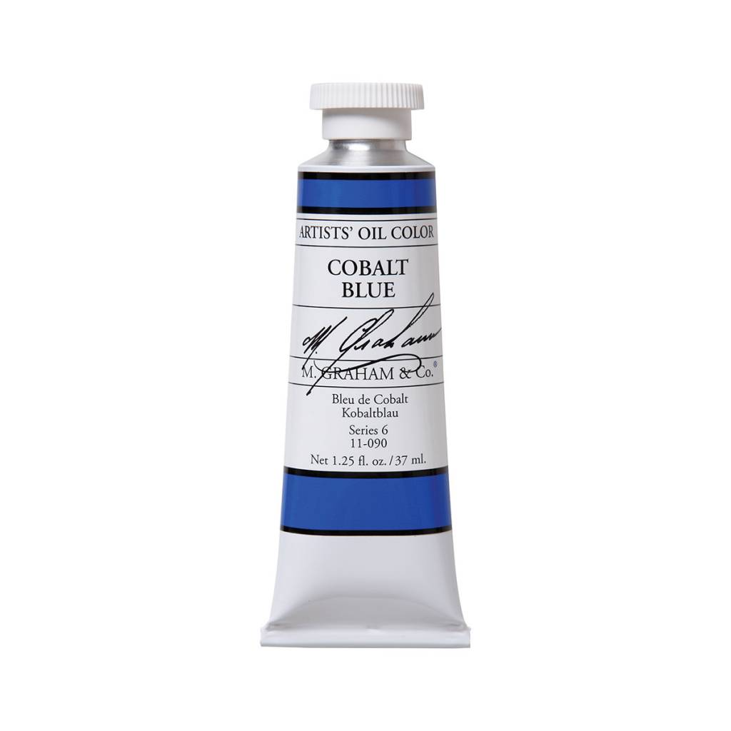 ARTISTS' OIL COLOR, COBALT BLUE, 1.25 OZ.